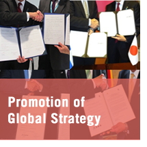 Promotion of Global Strategy