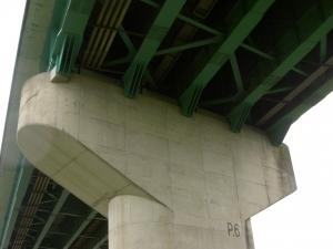 橋りょう補強工事施工後