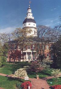State House (By courtesy of Maryland State Government)