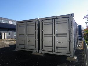 県央家畜保健衛生所防疫資材庫