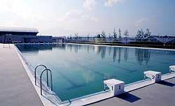 水難救助訓練場(プール)の写真