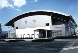屋内訓練棟(体育館)の写真