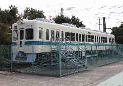 訓練用電車車両の写真