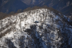 写真:檜洞丸山頂