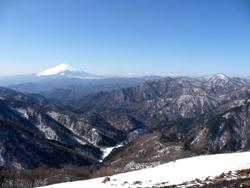 写真:塔ノ岳