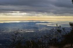 写真:山頂からの風景